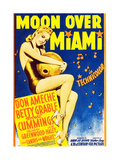 MOON OVER MIAMI Print