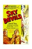 SKY DEVILS, bottom left from left: William Boyd, Spencer Tracy, 1932. Prints