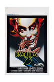 DRACULA TODAY, (aka DRACULA A.D. 1972, aka DRACULA '73), Christopher Lee on UK poster art, 1972. Plakater