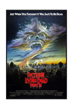 RETURN OF THE LIVING DEAD PART II, US poster, 1988 Juliste