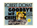 GOODBYE, MR. CHIPS, from left: Greer Garson, Robert Donat, 1939. Prints