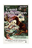 THE LAND UNKNOWN, Shawn Smith, Jock Mahoney, 1957 Plakát