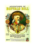THE ADVENTURES OF BUFFALO BILL, Buffalo Bill, 1917 Prints