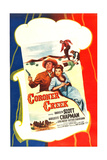 CORONER CREEK, US poster, Randolph Scott, Marguerite Chapman, 1948 Prints