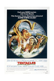 TENTACLES, (aka TENTACOLI), US poster, 1977 Print