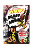 BOMBS OVER BURMA, US poster, Anna May Wong, 1943 Prints