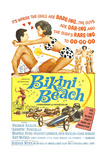 Bikini Beach, Frankie Avalon, Annette Funicello, 1964 Posters