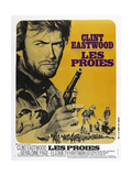 THE BEGUILED, (aka LES PROIES), French poster, Clint Eastwood, 1971 Posters