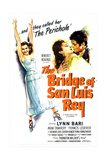 THE BRIDGE OF SAN LUIS REY, from left: Lynn Bari, Francis Lederer, 1944 Prints