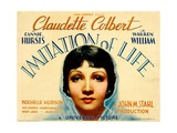 IMITATION OF LIFE, Claudette Colbert, 1934. Poster