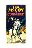 CORNERED, Tim McCoy, 1932. Art