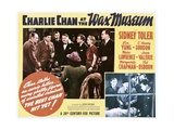 CHARLIE CHAN AT THE WAX MUSEUM Art