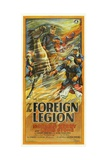 THE FOREIGN LEGION, 3-sheet poster, Norman Kerry (on horseback), 1928. Posters