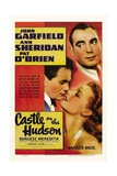 CASTLE ON THE HUDSON, Pat O'Brien, John Garfield, Ann  Sheridan, 1940. Posters