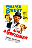 ALIAS A GENTLEMAN, US poster, from left: Tom Drake, Wallace Beery, Dorothy Patrick, 1948 Posters