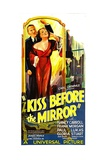 THE KISS BEFORE THE MIRROR, from left: Frank Morgan, Nancy Carroll, 1933. Print
