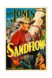 SANDFLOW, top: Buck Jones, 1937. Art