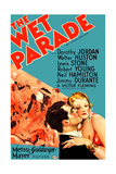 THE WET PARADE, from left on US poster art: Neil Hamilton, Myrna Loy, 1932 Prints