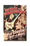 FLASH GORDON'S TRIP TO MARS, Larry 'Buster' Crabbe in 'Chapter 10: Incense of Forgetfulness', 1938 Art