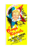 BOYS' RANCH, US poster, center from top: Jackie 'Butch' Jenkins, James Craig, Dorothy Patrick, 1946 Prints