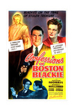 CONFESSIONS OF BOSTON BLACKIE, US poster, center from left: Chester Morris, Harriet Hilliard, 1941 Posters