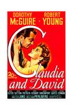 CLAUDIA AND DAVID Posters