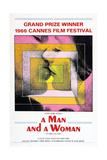 A MAN AND A WOMAN (aka UN HOMME ET UNE FEMME) Prints