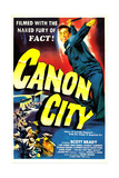 CANON CITY, US poster, Scott Brady, 1948 Posters