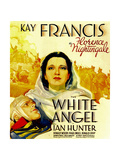 THE WHITE ANGEL, center: Kay Francis on window card, 1936 Posters
