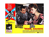 REBEL ROUSERS, Jack Nicholson (bottom, left), Cameron Mitchell (large inset, left), 1970. Posters