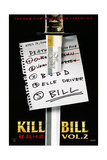 KILL BILL: VOL.2, US Poster, 2004. © Miramax/courtesy Everett Collection Premium Giclée-tryk