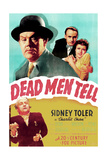 DEAD MEN TELL Plakat
