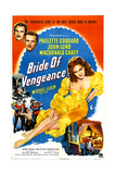 BRIDE OF VENGEANCE, top from top left: Macdonald Carey, John Lund, Paulette Goddard, 1949 Art