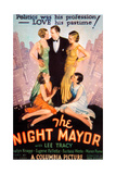 THE NIGHT MAYOR, US poster art, Lee Tracy (center), 1932 Art