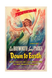 DOWN TO EARTH, Rita Hayworth, 1947 Prints