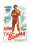OBJECTIVE, BURMA!, Errol Flynn, 1945. Prints