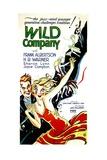 WILD COMPANY Print