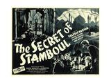 THE SECRET OF STAMBOUL, bottom left: James Mason,  1936 Print