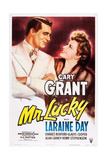 MR. LUCKY, Cary Grant, Laraine Day, 1943 Posters
