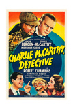 CHARLIE MCCARTHY, DETECTIVE Posters