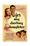 YES, MY DARLING DAUGHTER Posters