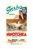 NINOTCHKA, top from left: Melvyn Douglas, Greta Garbo, bottom: Greta Garbo, 1939. Posters