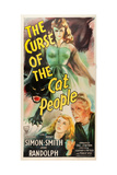 THE CURSE OF THE CAT PEOPLE, Simone Simon, Ann Carter, Julia Dean, 1944. Posters