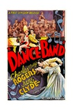 DANCE BAND, top and bottom from left: June Clyde, Charles 'Buddy' Rogers, 1935. Prints