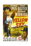 YELLOW SKY Posters