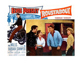ROUSTABOUT, from left, Elvis Presley, Joan Freeman, Leif Erickson, Barbara Stanwyck, 1964 Prints