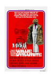 WILLIE DYNAMITE, US poster, Roscoe Orman, 1974 Art