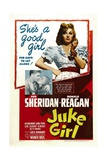 JUKE GIRL, from left: Ronald Reagan, Ann Sheridan; center: Ann Sheridan, 1942 Reprodukce