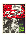 FIRE MAIDENS OF OUTER SPACE (aka FIRE MAIDENS FROM OUTER SPACE) Prints