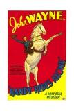 RANDY RIDES ALONE, John Wayne, 1934 Posters